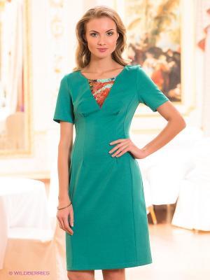 Платье Capriz. Цвет: зеленый