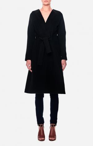 Пальто Черное NATASHA RULEVA