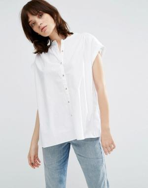 MiH Jeans Рубашка Mi.h Ile. Цвет: белый