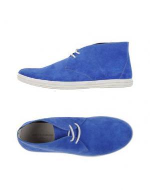 Высокие кеды и кроссовки GUARDIANI DRIVE. Цвет: ярко-синий