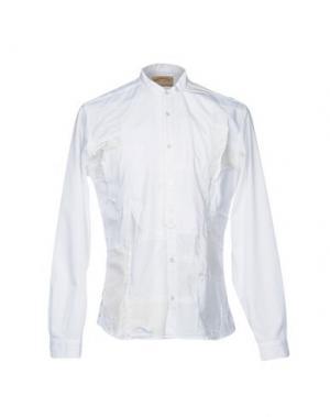 Pубашка BEAT GENERATION. Цвет: белый