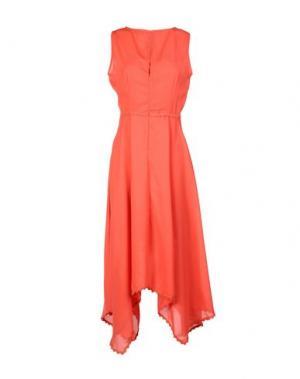 Платье длиной 3/4 CUTIE. Цвет: красный