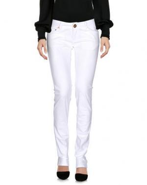 Повседневные брюки ATELIER FIXDESIGN. Цвет: белый