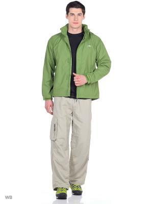 Куртка Trespass. Цвет: оливковый