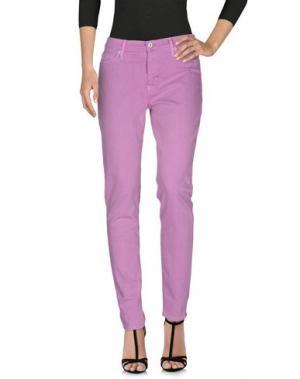 Джинсовые брюки HUDSON. Цвет: сиреневый