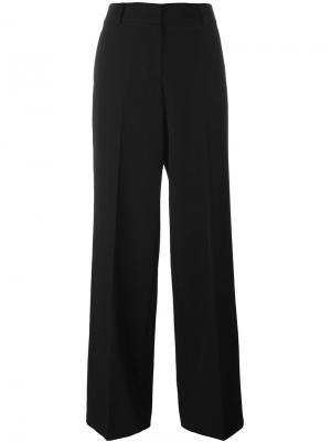Широкие брюки DKNY. Цвет: чёрный