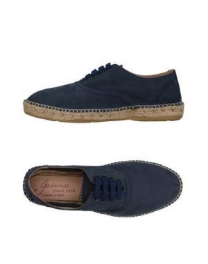 Обувь на шнурках GAIMO. Цвет: темно-синий