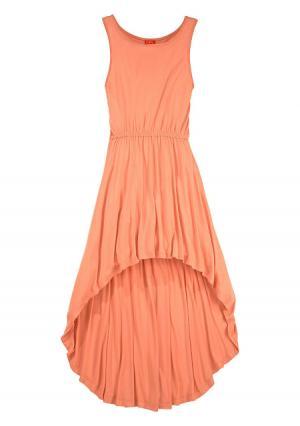 Платье Colors for Life. Цвет: зеленый, ярко-розовый