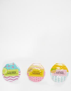 Beauty Extras Набор из трех косметических питательных средств одноразового использов. Цвет: бесцветный