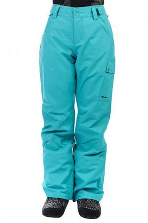Штаны сноубордические женские  Yana Aruba Billabong. Цвет: голубой