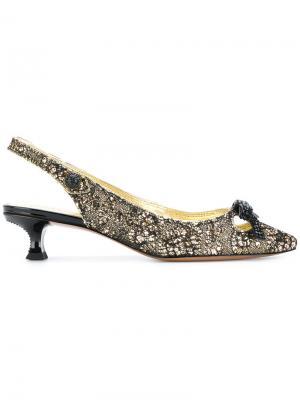 Туфли-лодочки Abbey с открытой пяткой Marc Jacobs. Цвет: none