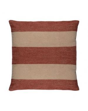 Подушка LEXINGTON. Цвет: красно-коричневый