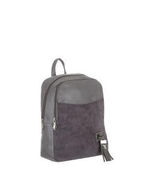 Рюкзак 5752A искусственная кожа Sofiya. Цвет: серый