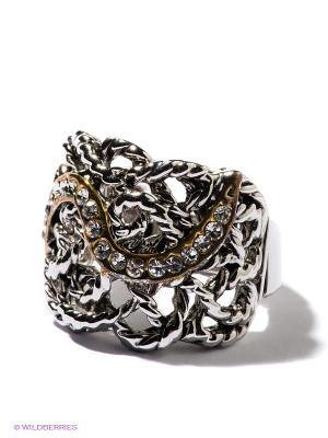 Кольцо Taya. Цвет: серебристый