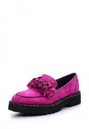 Лоферы Grand Style. Цвет: розовый