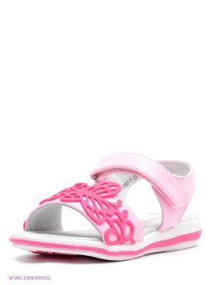 Сандалии Vitacci. Цвет: розовый