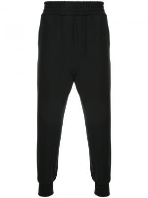 Спортивные брюки классического кроя Wooyoungmi. Цвет: чёрный