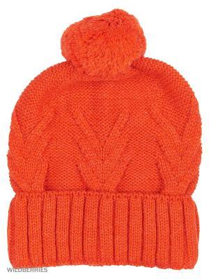 Шапка Jeunmar. Цвет: оранжевый