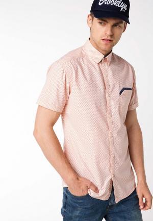 Рубашка DeFacto. Цвет: коралловый