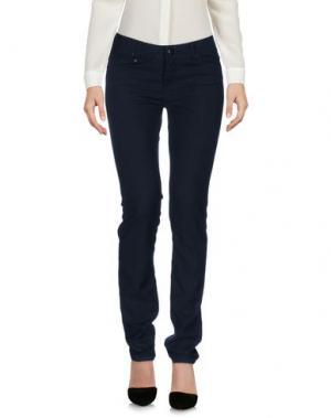 Повседневные брюки LEROCK. Цвет: темно-синий