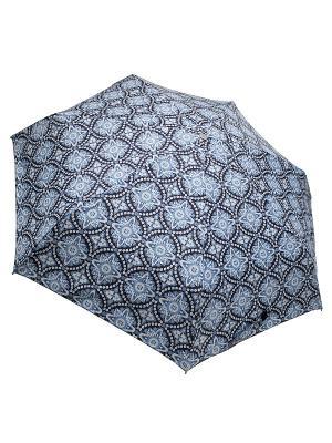 Зонт Edmins. Цвет: темно-синий, белый, голубой