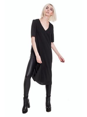 Блузка JATRAW. Цвет: черный