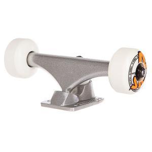 Подвеска для скейтборда 1шт.  & Bullet Logo 1t/2w/4b Assembly Silver 5.25 (20.3 см) Oj. Цвет: серый