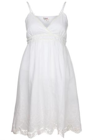 Платье Usha. Цвет: белый