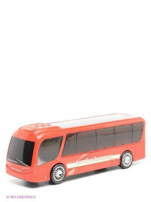 Автобус музыкальный VELD-CO. Цвет: красный