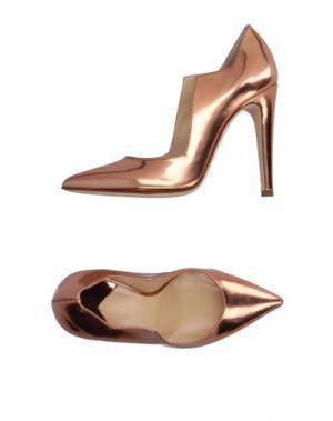 Туфли CHARLINE DE LUCA. Цвет: медный