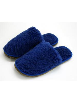Тапочки Тефия. Цвет: синий, темно-синий
