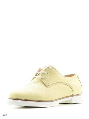 Ботинки IVOLGA. Цвет: желтый