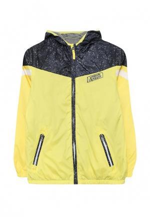 Куртка Brums. Цвет: желтый