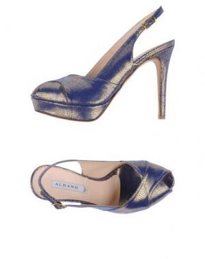 Сандалии ALBANO. Цвет: ярко-синий