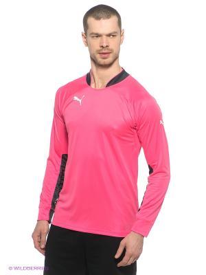 Лонгслив GK Shirt Puma. Цвет: розовый