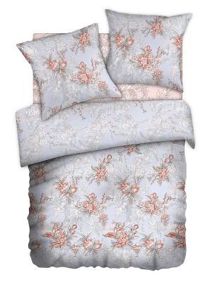 Постельное белье Romantic Collection. Цвет: серый