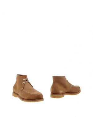 Полусапоги и высокие ботинки SWAMP. Цвет: верблюжий