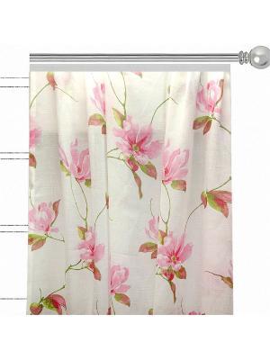 Вуаль Флорентийская лилия Altali. Цвет: розовый