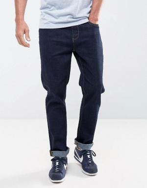 LDN DNM Облегающие джинсы цвета индиго. Цвет: синий
