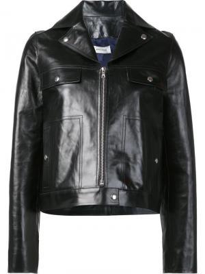 Куртка на молнии Beau Souci. Цвет: чёрный
