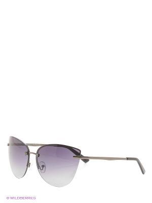 Солнцезащитные очки Vita pelle. Цвет: черный, темно-фиолетовый