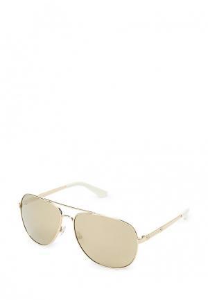Очки солнцезащитные Juicy Couture. Цвет: золотой