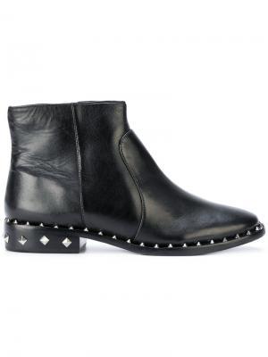 Ботинки-челси с заклепками Schutz. Цвет: чёрный