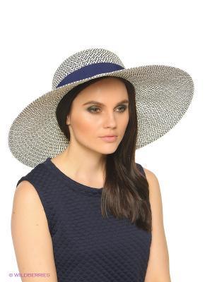 Шляпа United Colors of Benetton. Цвет: темно-синий, серый, темно-серый