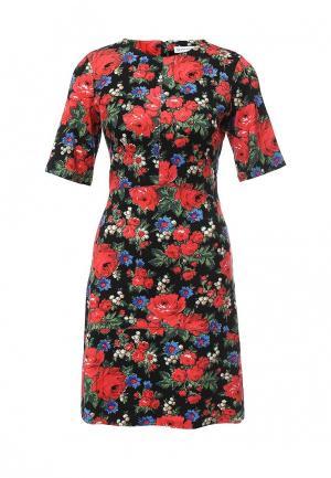 Платье Warehouse. Цвет: разноцветный