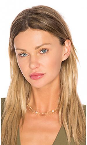 Чокер chloe Natalie B Jewelry. Цвет: металлический золотой