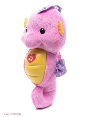 Ночник Морской конек Жирафики. Цвет: розовый