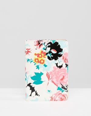 BAN DO Обложка для паспорта Ban.do Florabunda. Цвет: мульти
