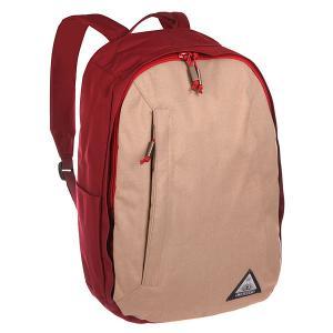 Рюкзак городской  Lewis Pack Khaki Ogio. Цвет: бордовый,бежевый