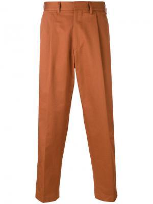 Укороченные брюки Craig The Gigi. Цвет: коричневый